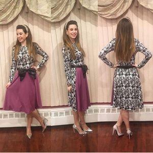 👗three long sleeve midi dress bundle